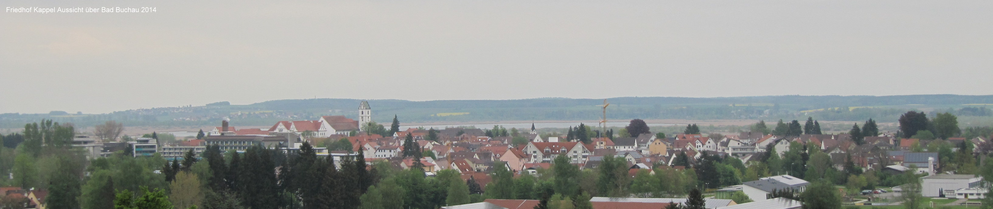 Friedhof Kappel Aussicht über Bad Buchau 2014-001